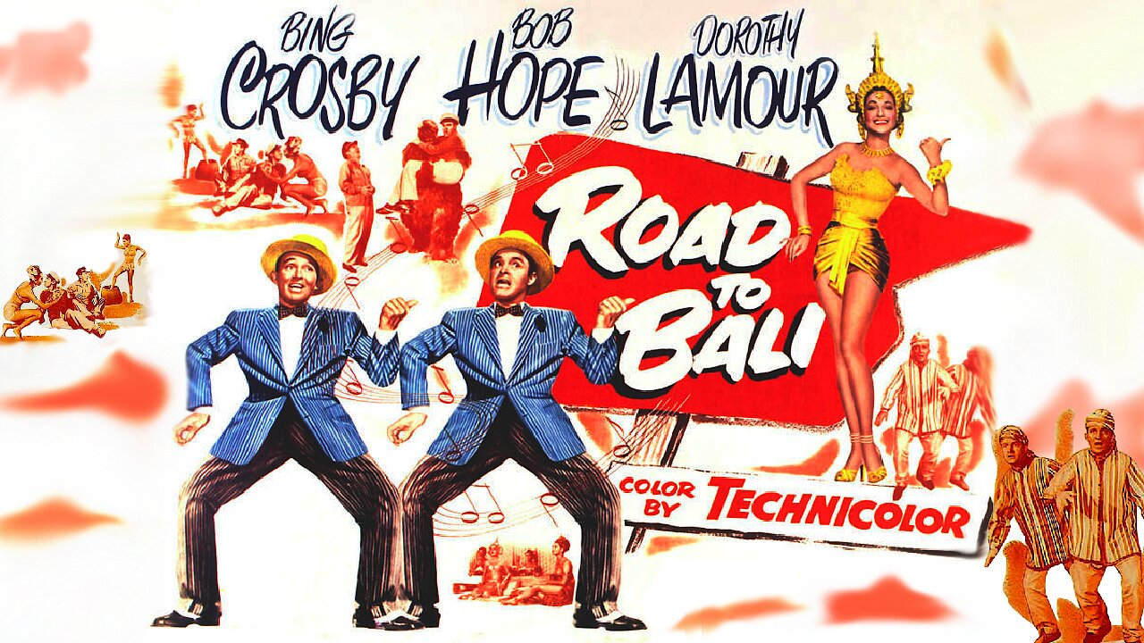 Video poster Road to Bali (1952)