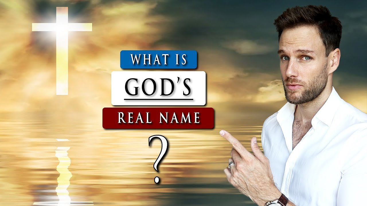 Video poster What is GOD'S real NAME in the BIBLE | What name should you use?