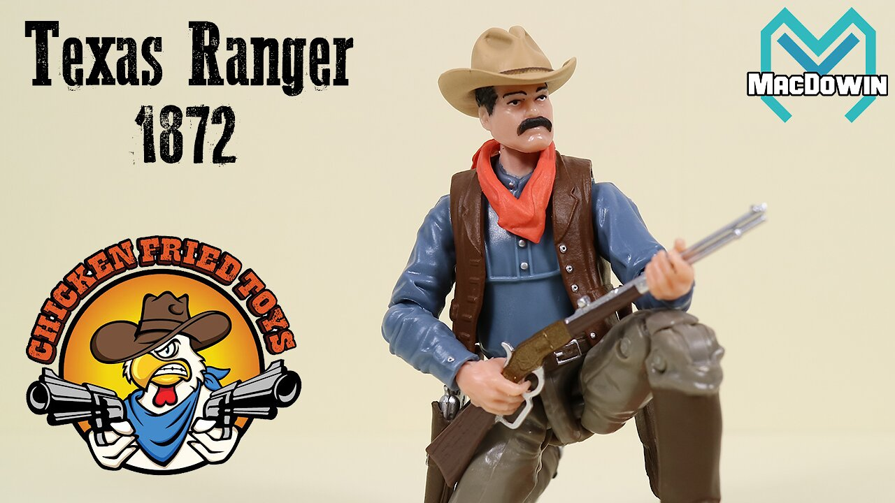 Video poster *NEW* TEXAS RANGER 2020 | 4 Inch Action Figure Review | Dime Novel Legends from Chicken Fried Toys