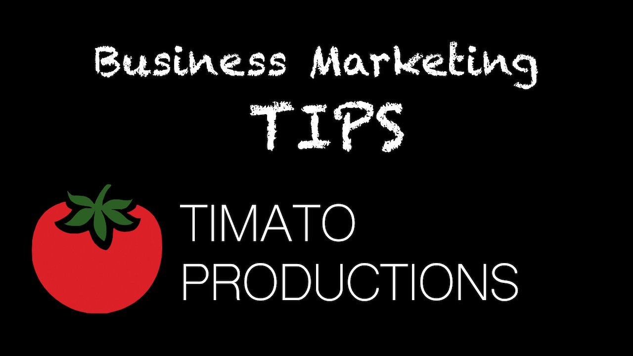 Video poster Marketing Tips: Episode 11-Production Space
