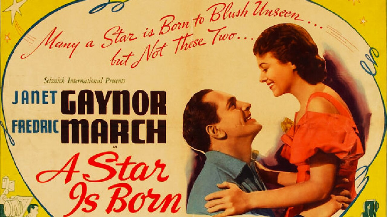 Video poster Janet Gaynor & Fredric March: A Star Is Born (1937)