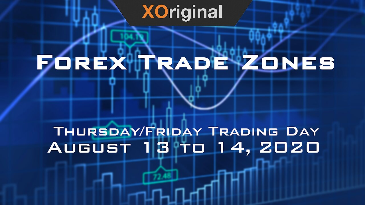 Video poster Forex Trade Zones for August 13 to 14,  2020