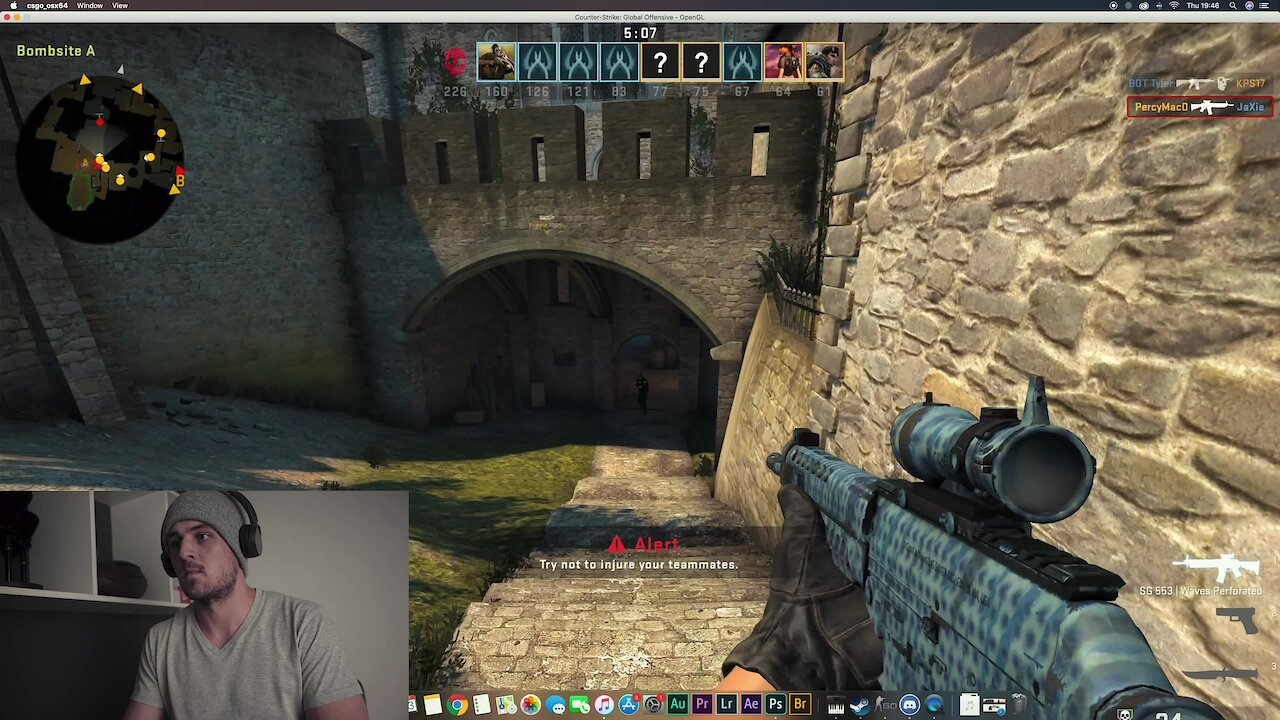 Video poster My EDITING area, HAMBURGERS en Counter Strike tydens Lockdown