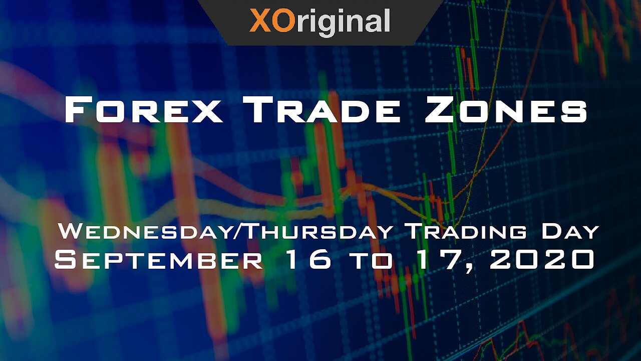 Video poster Forex Trade Zones for September 16 to 17,  2020
