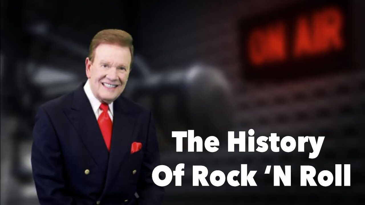 "Video poster ""The History Of Rock 'N Roll"""