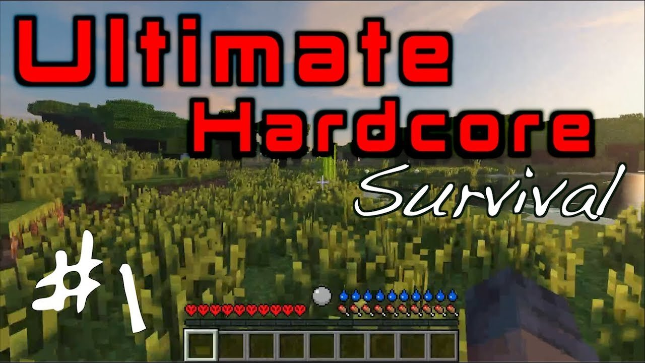 Video poster Ultimate Hardcore Survival!!!  Minecraft Ep #1