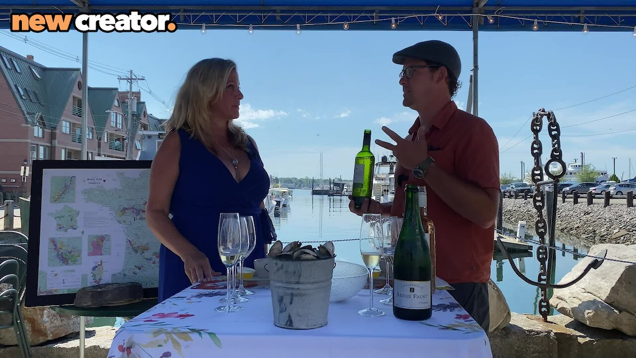 Video poster Vine Time TV Sample Steamed Clams & Organic Wine with Chartrand Imports at J's Oyster