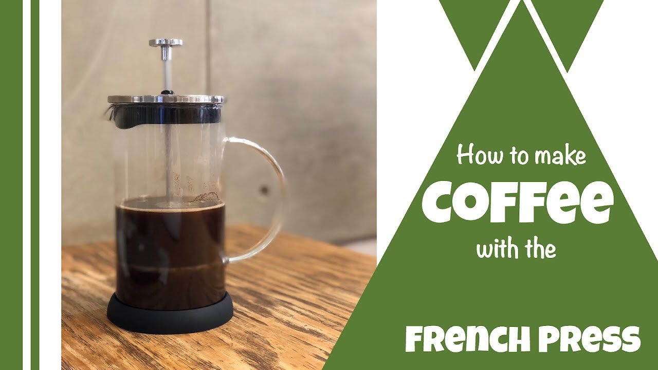 Video poster How to make the best french press coffee at home