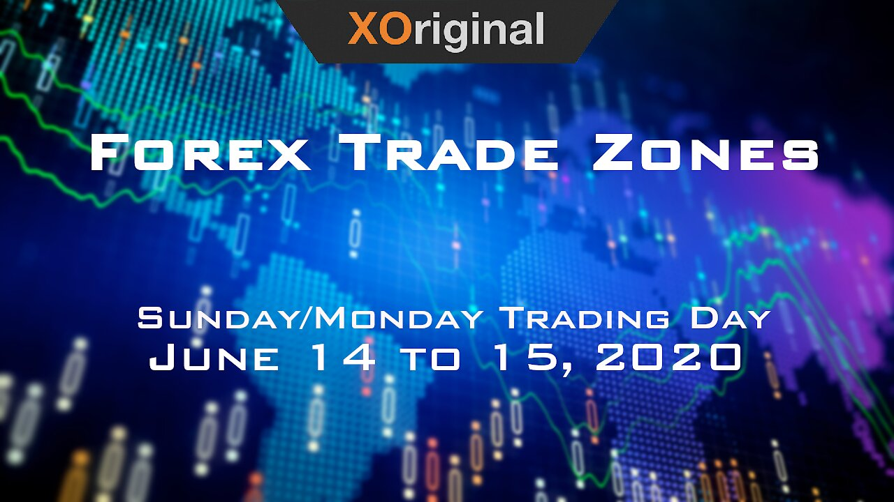 Video poster Forex Trade Zones for June 14 to 15,  2020