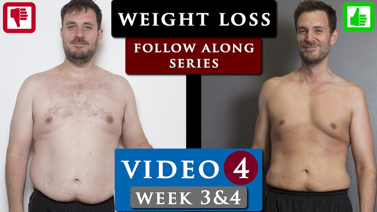 Video poster MALE BODY TRANSFORMATION from fat to fit follow along | Video 4