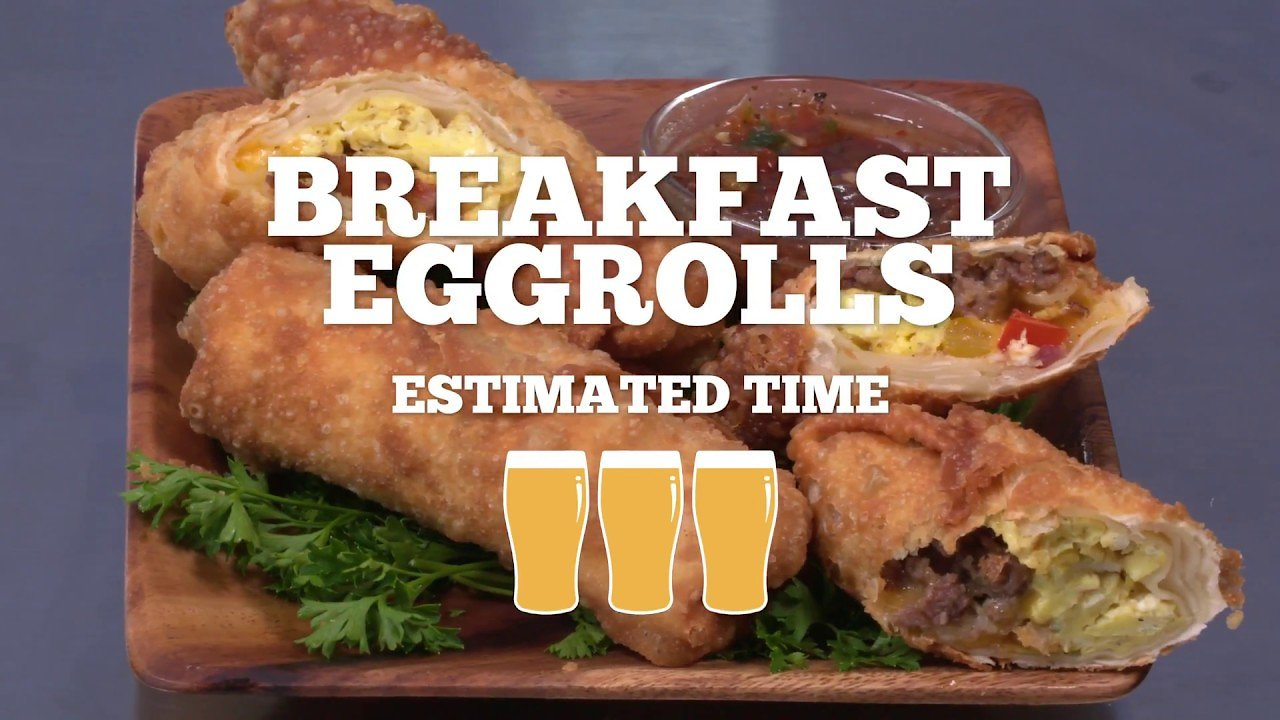Video poster Breakfast Egg Rolls Recipe - Episode 24