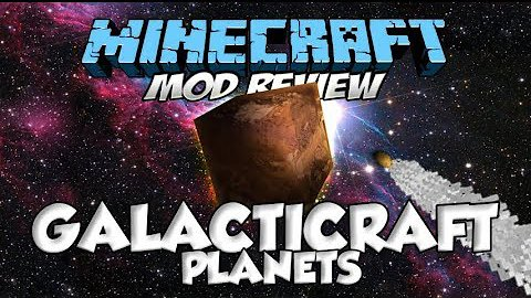 Video poster Galacticraft Planets Mod 1.12.2 (Part 3) | Minecraft