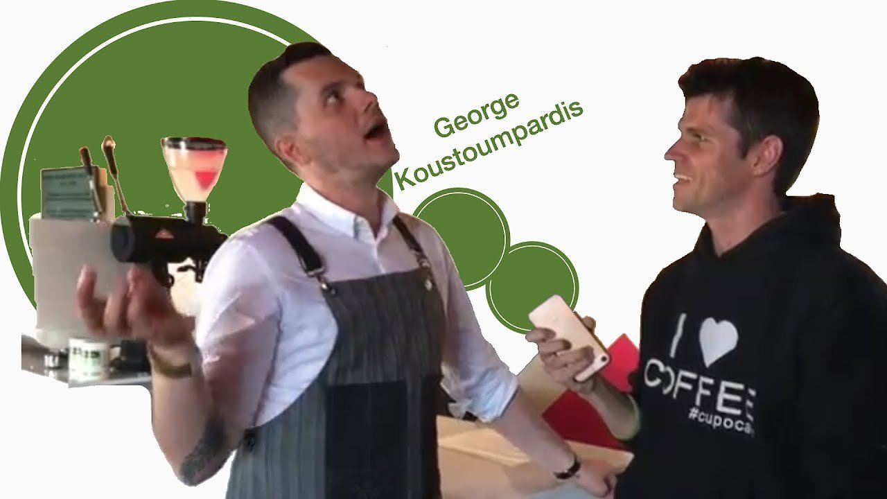 Video poster Interview with George Koustoumpardis on coffee