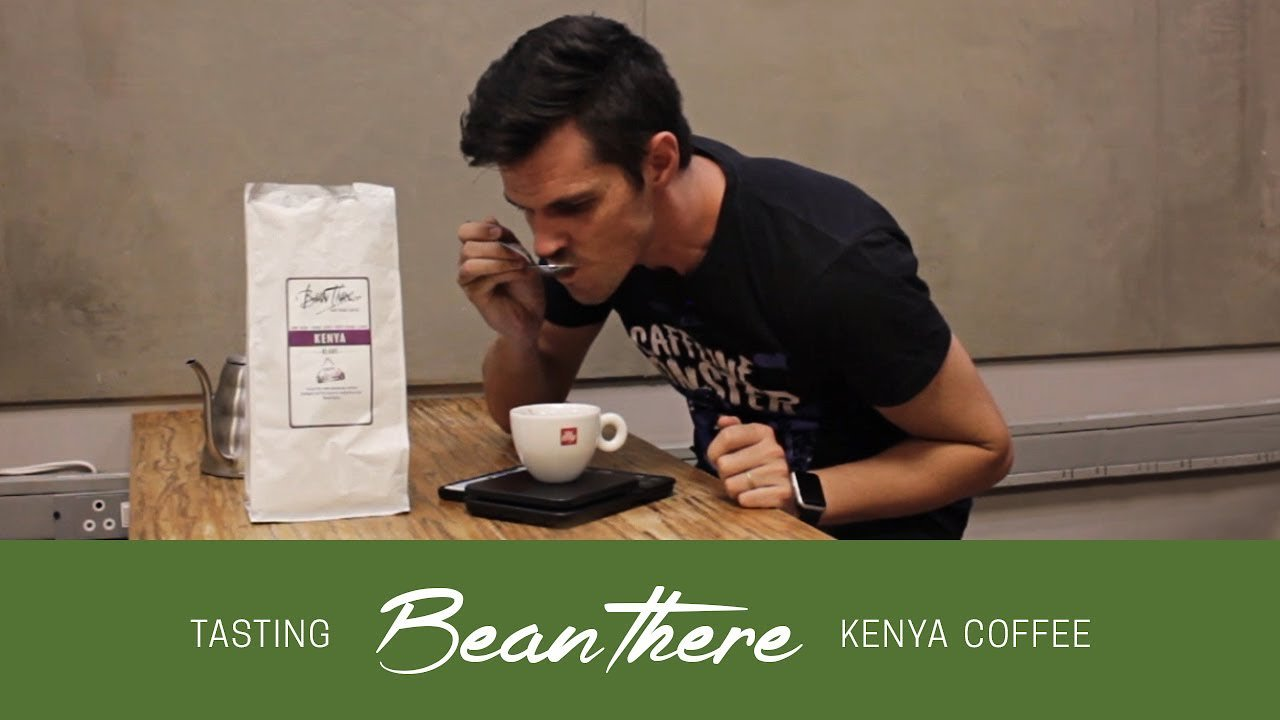 Video poster Tasting Bean There Kenya coffee
