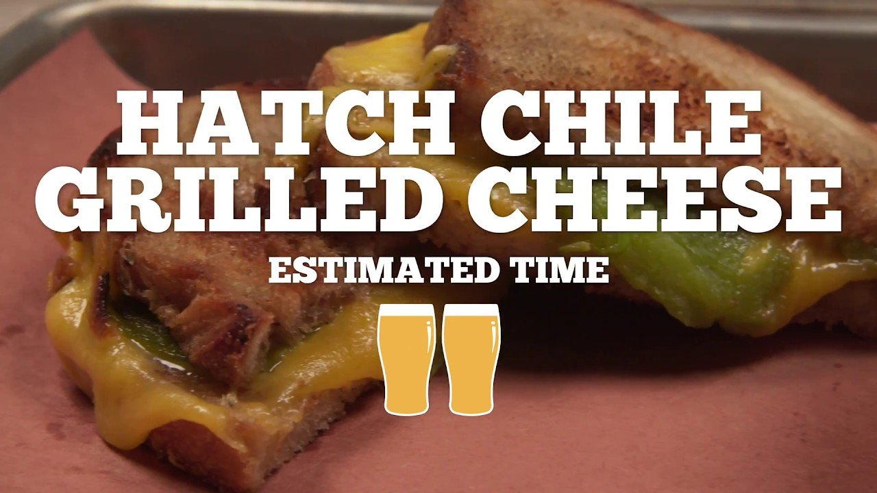 Video poster Hatch Chile Grilled Cheese Recipe - Episode 16