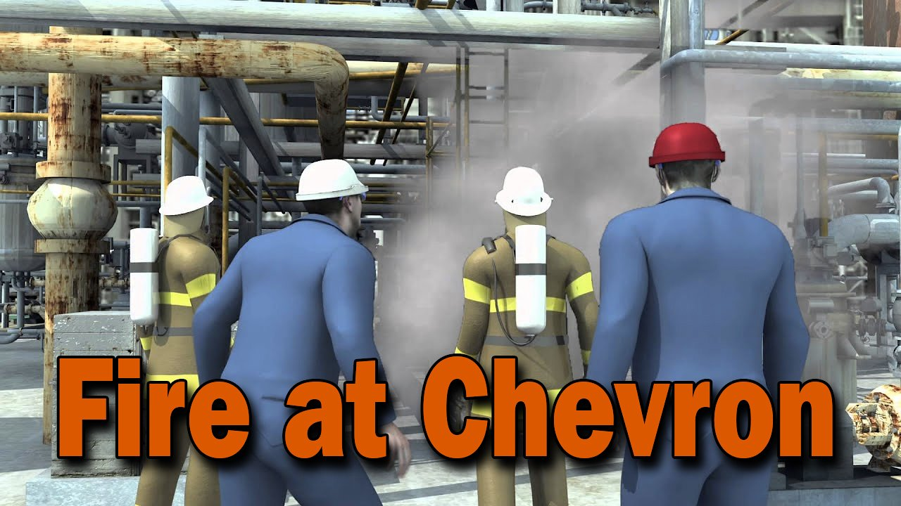 Video poster Fire at Chevron's Richmond Refinery, August 6, 2012