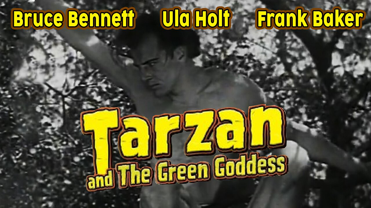 Video poster Tarzan and the green godess