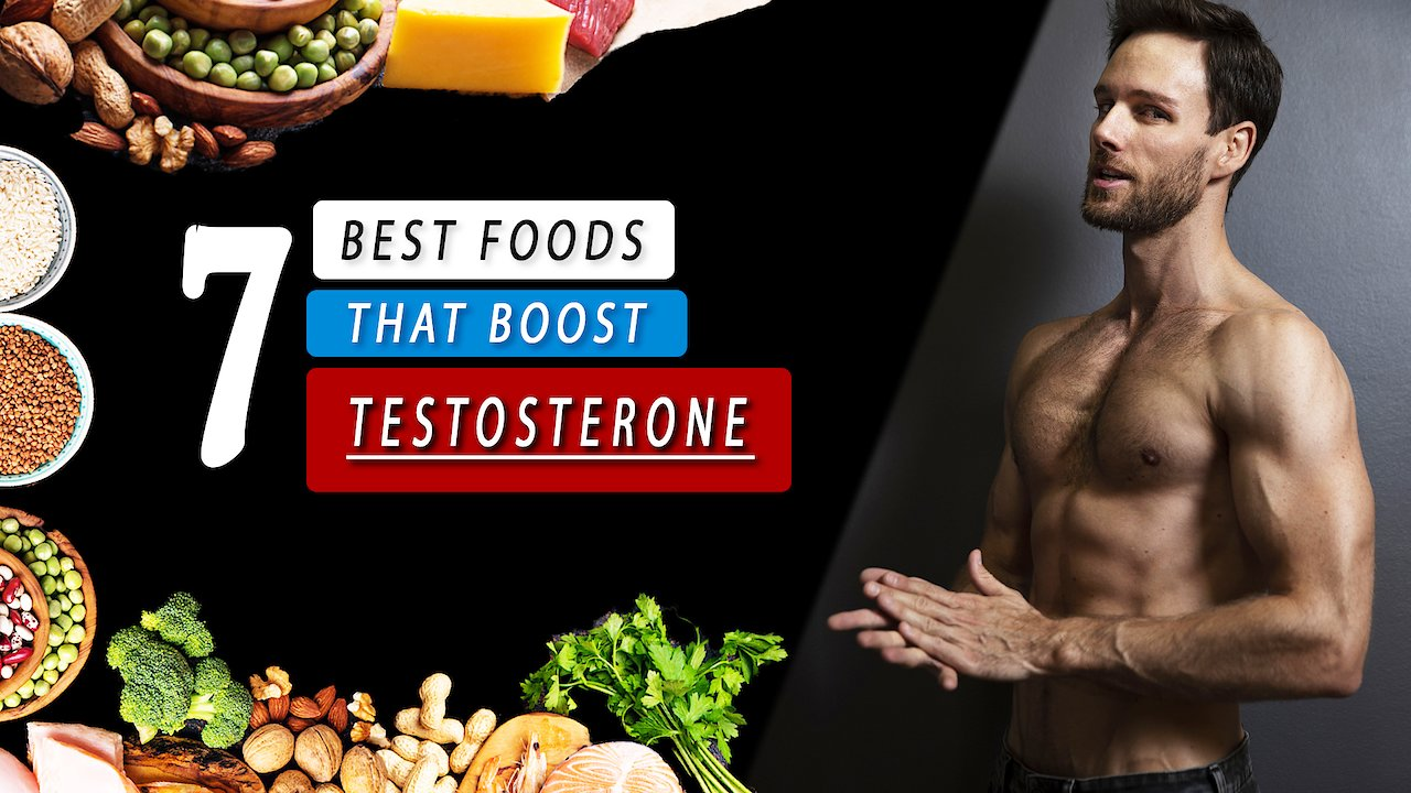 Video poster 7 BEST FOOD to increase TESTOSTERONE level naturally