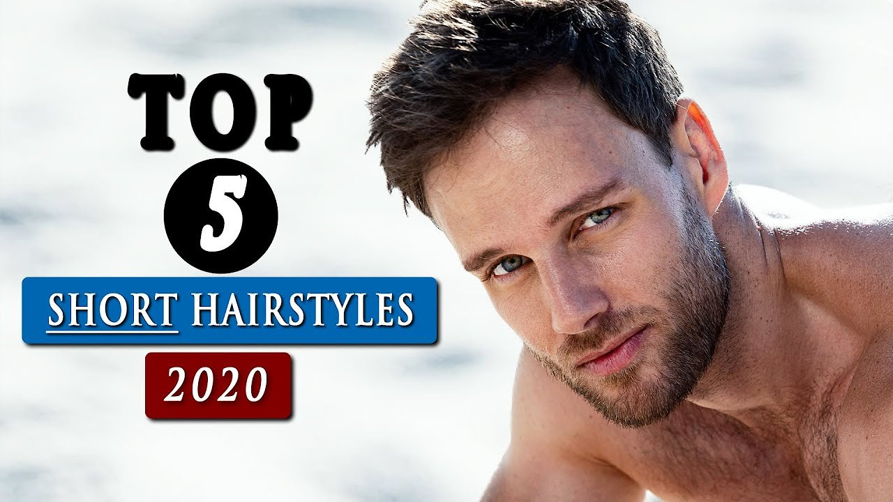 Video poster BEST short HAIRSTYLES for men in 2020