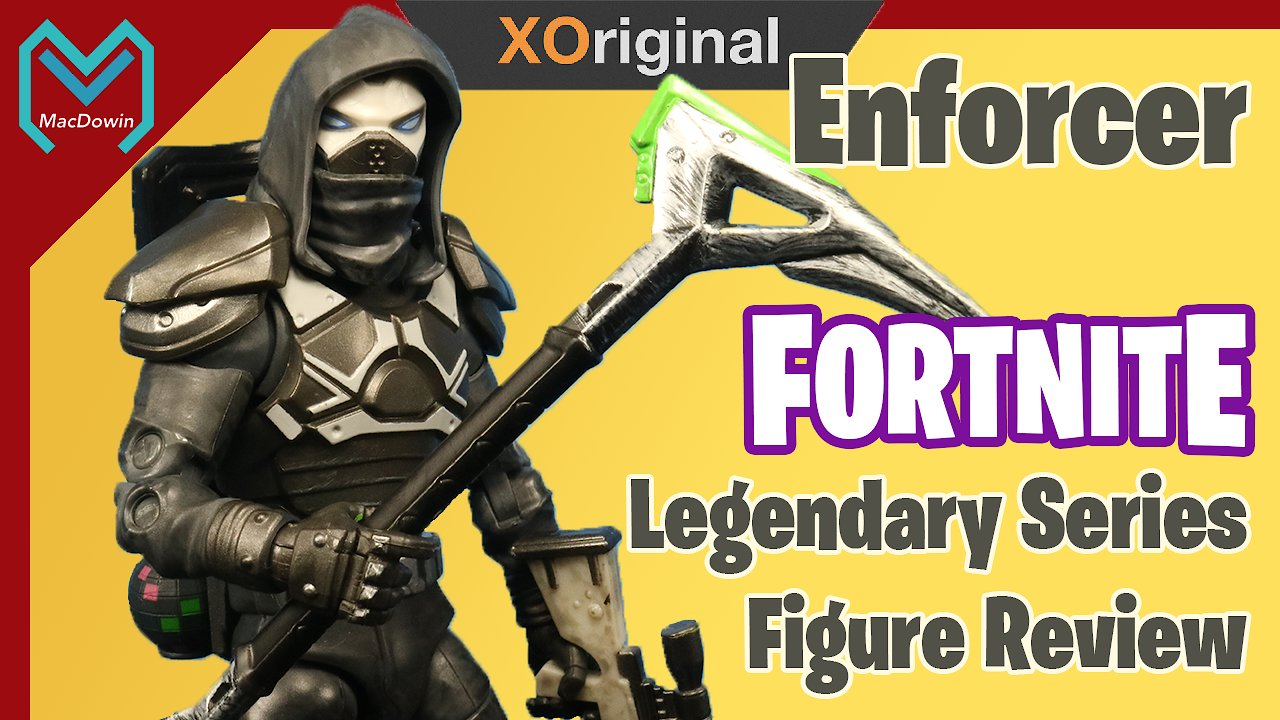 Video poster 2019 Enforcer Legendary Series Fortnite Action Figure  by Jazwares