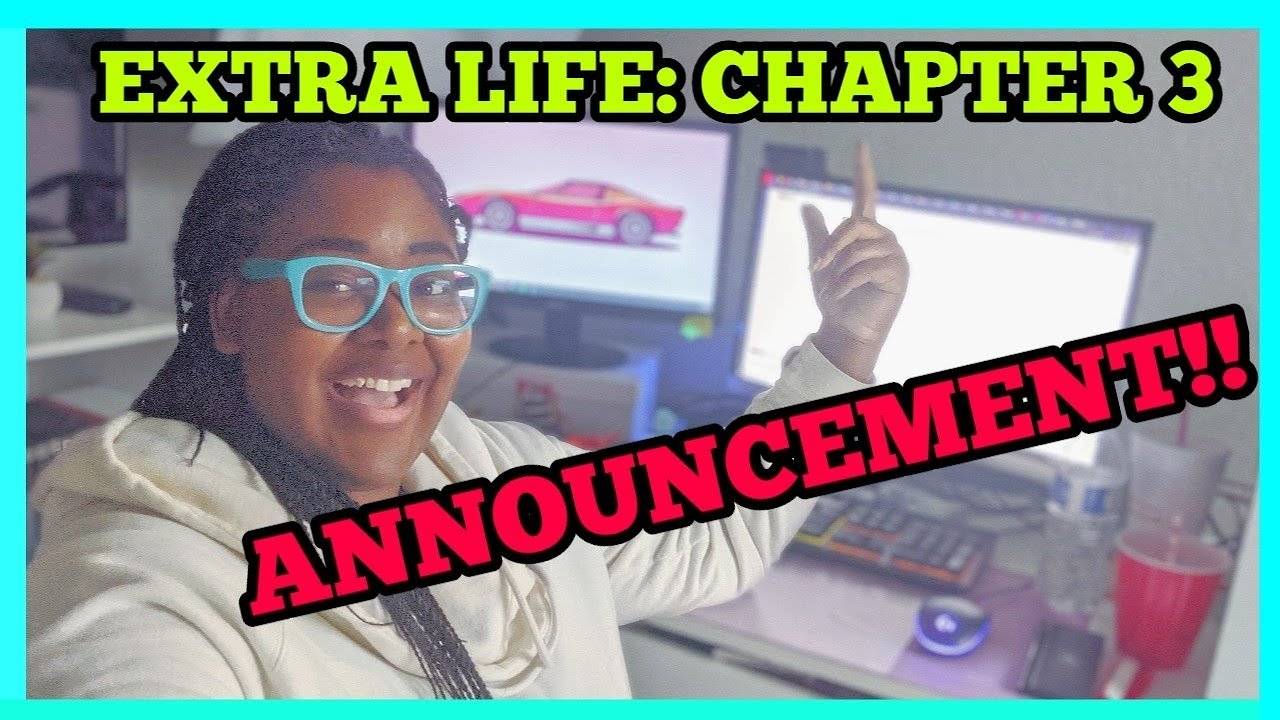 Video poster Extra Life 2019: Prep and Announcement Vlog