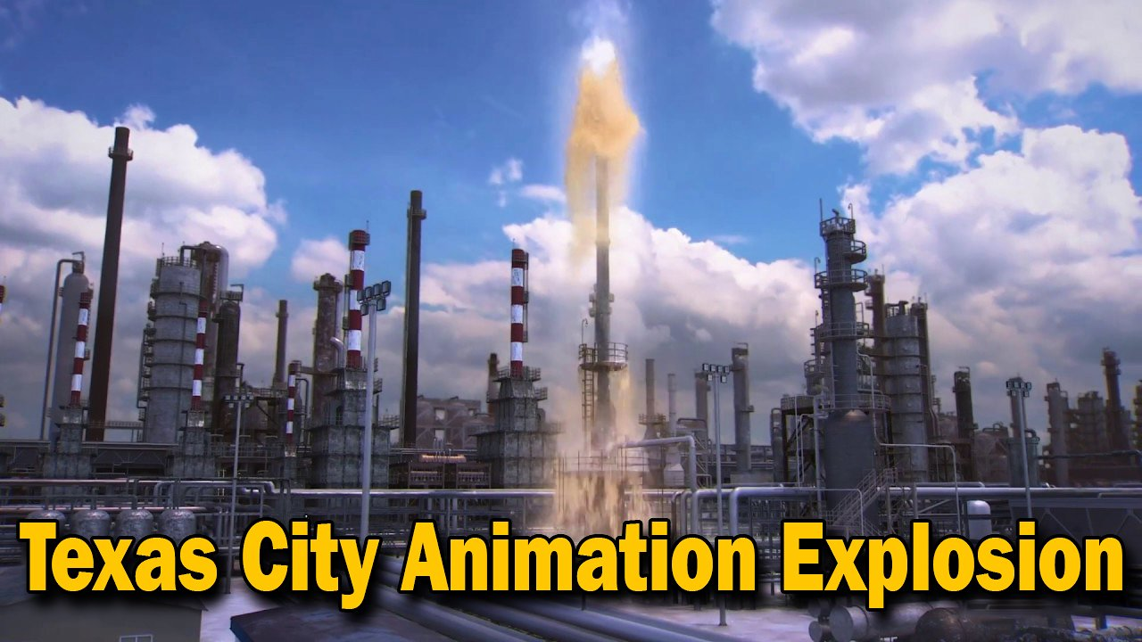 Video poster Updated BP Texas City Animation on the 15th Anniversary of the Explosion