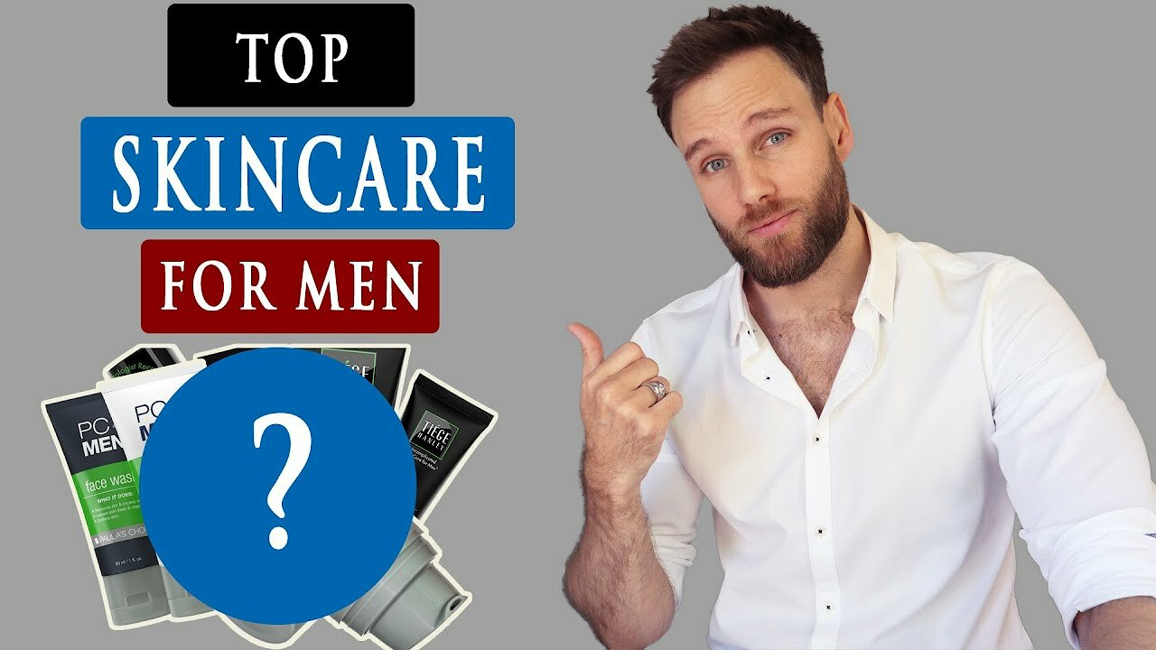Video poster Best SKINCARE PRODUCTS for MEN | Men's Skincare 2020