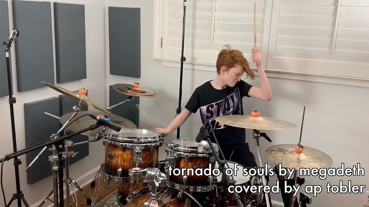 Video poster Tornado of Souls - Megadeth Drum Cover
