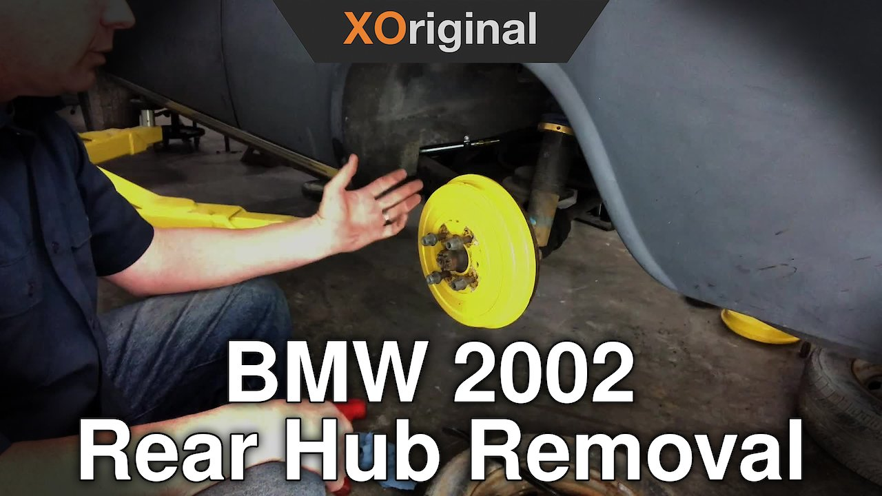 Video poster BMW 2002 Rear Hub Removal
