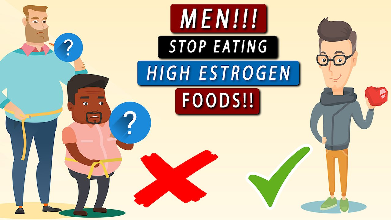 Video poster Top 3 FOODS with HIGH ESTROGEN levels men should AVOID!