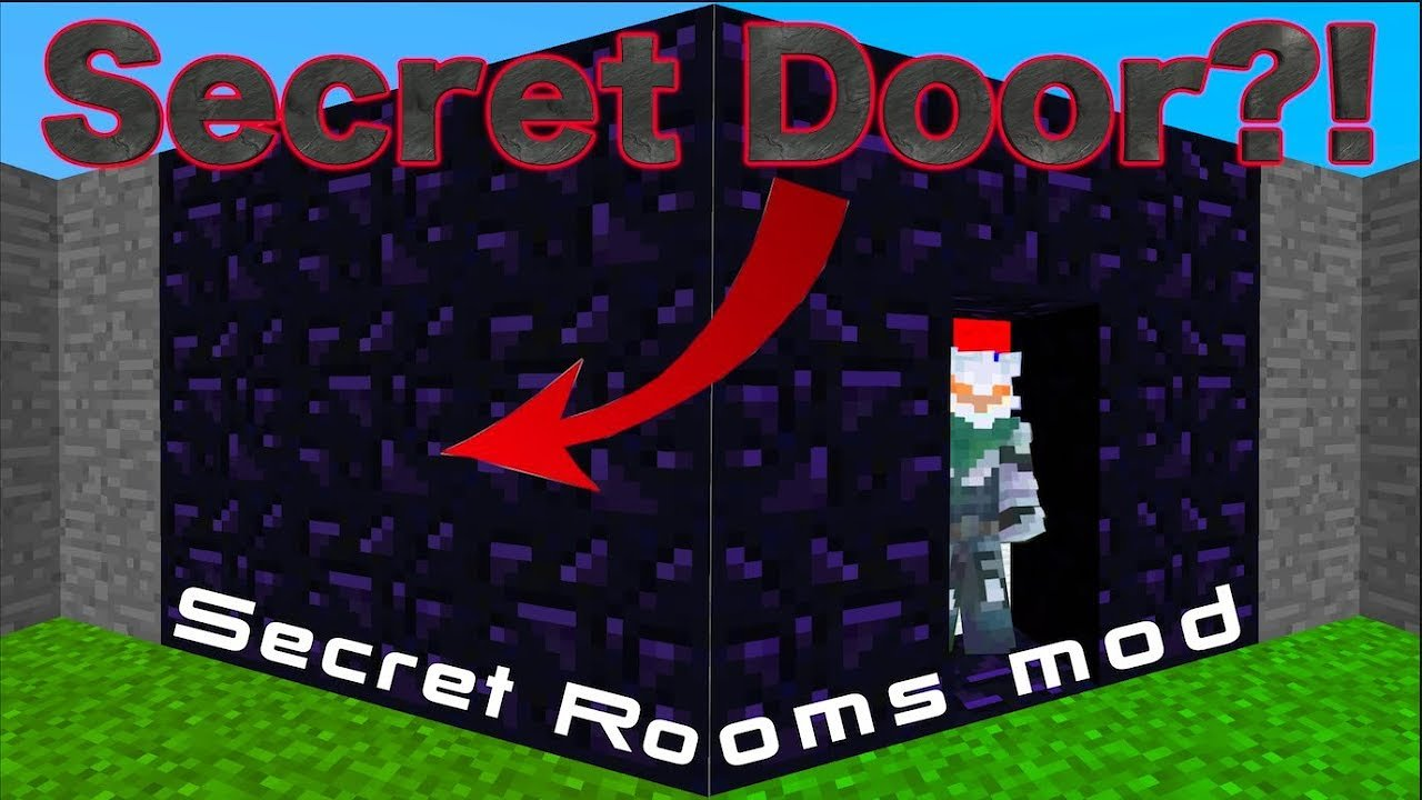 Video poster Secret Room Mod 1.12.2  Minecraft