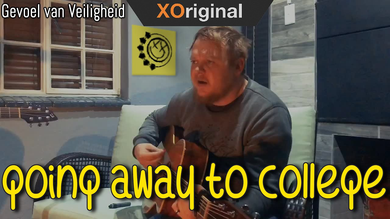 Video poster Blink 182 -  Going away to college acoustic cover