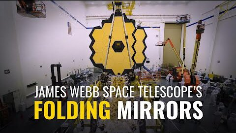 Video poster The James Webb Space Telescope's Folding Mirrors