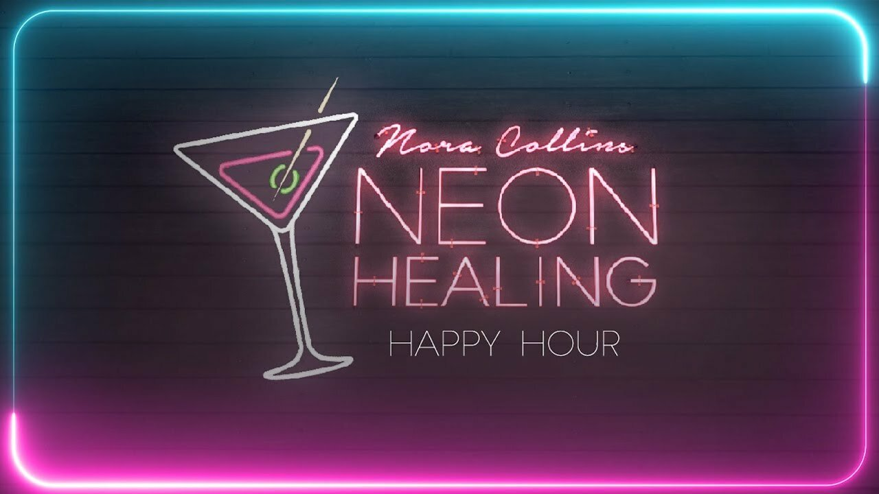 "Video poster Nora Collins - How to make a ""Neon Healer"" cocktail!"