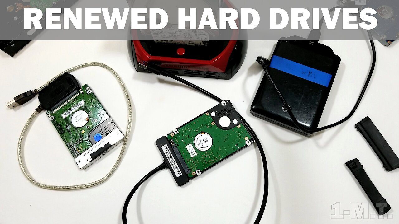 Video poster One Minute Tech - Episode 7 : Renewed Hard Drives