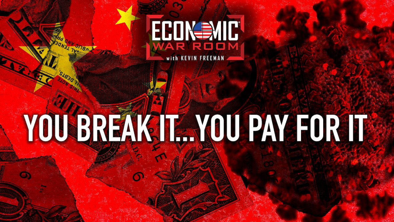 Video poster Hey, Chinese Communist Party: 'You Break It, You Pay for It'