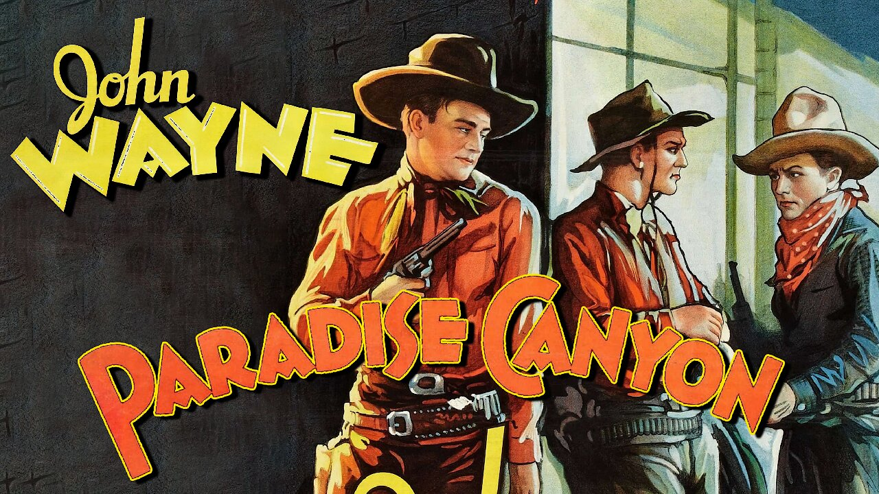Video poster John Wayne: Paradise Canyon (1935)