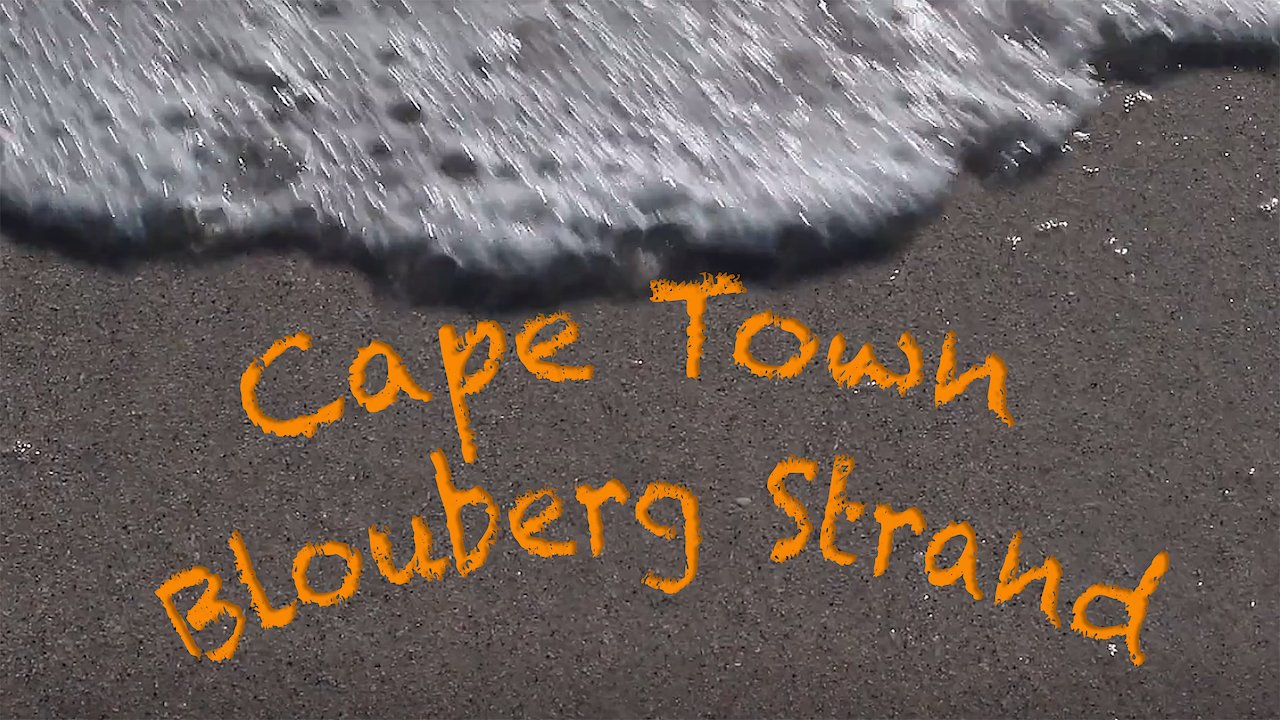 Video poster South Africa - Cape Town (Blouberg Strand)