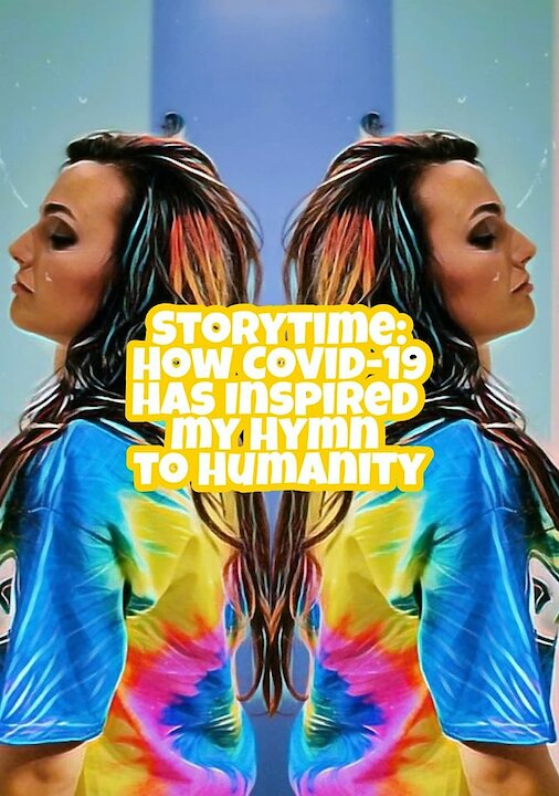 Video poster Ep. 2 Storytime: How Lockdown inspired my Hymn to Humanity and Artist United | Veronica Vitale