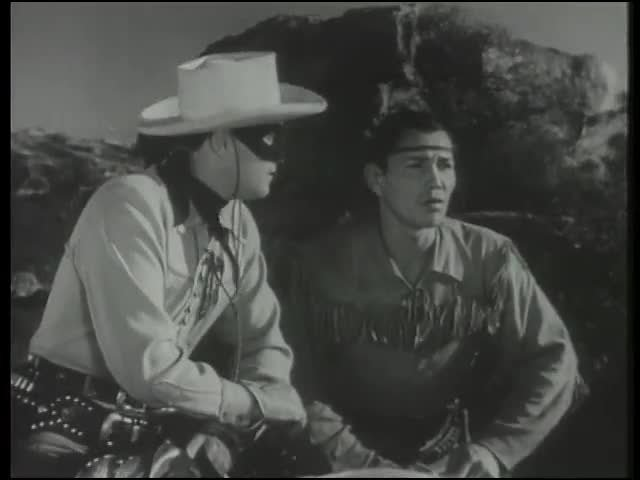 Video poster The Lone Ranger - Old Joe Sister