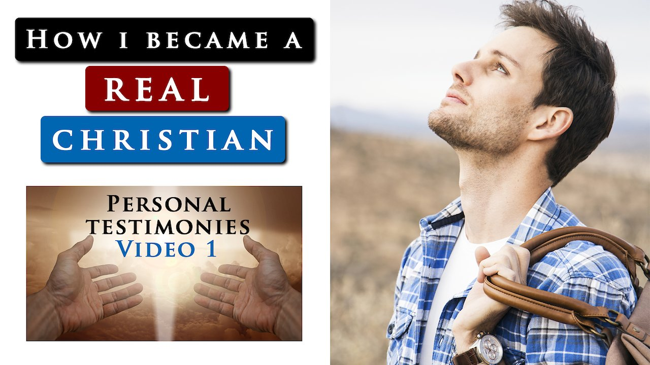 Video poster How I became a REAL CHRISTIAN |  Personal testimony of Daniel Maritz
