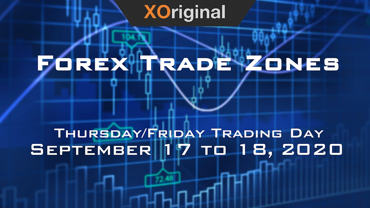Video poster Forex Trade Zones for September 17 to 18,  2020