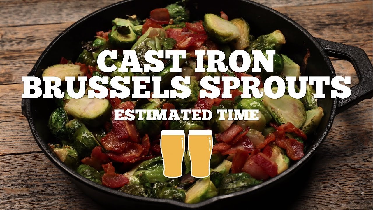 Video poster Cast Iron Brussels Sprouts Recipe - Episode 10