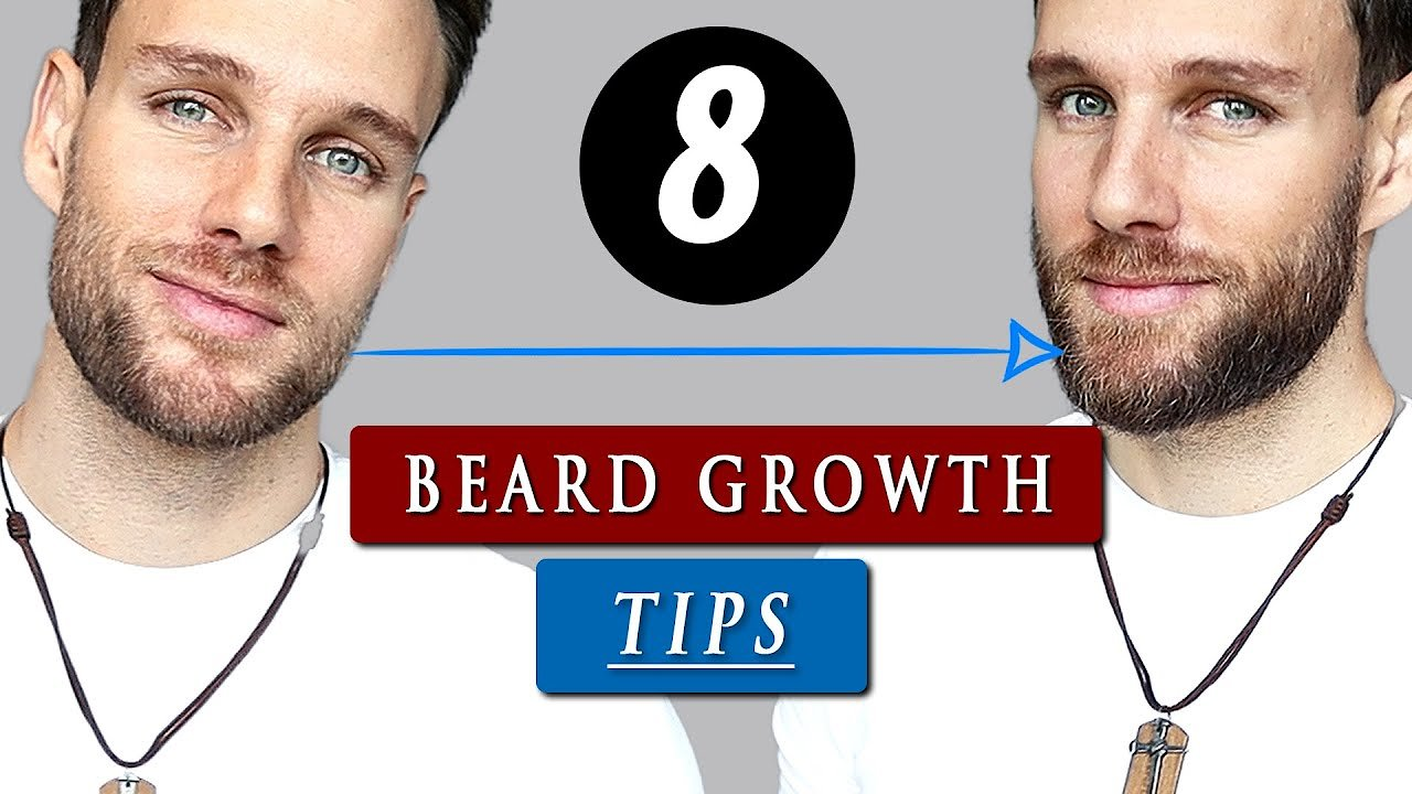 Video poster How to GROW your BEARD faster, thicker & longer