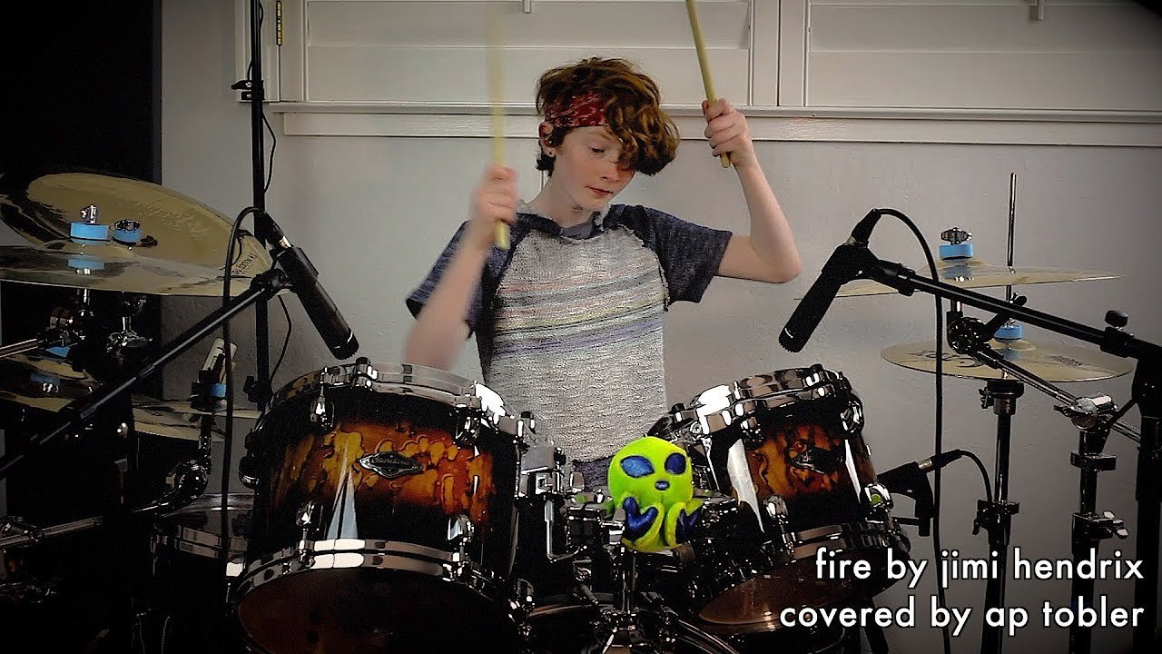 Video poster Fire - Jimi Hendrix Drum Cover