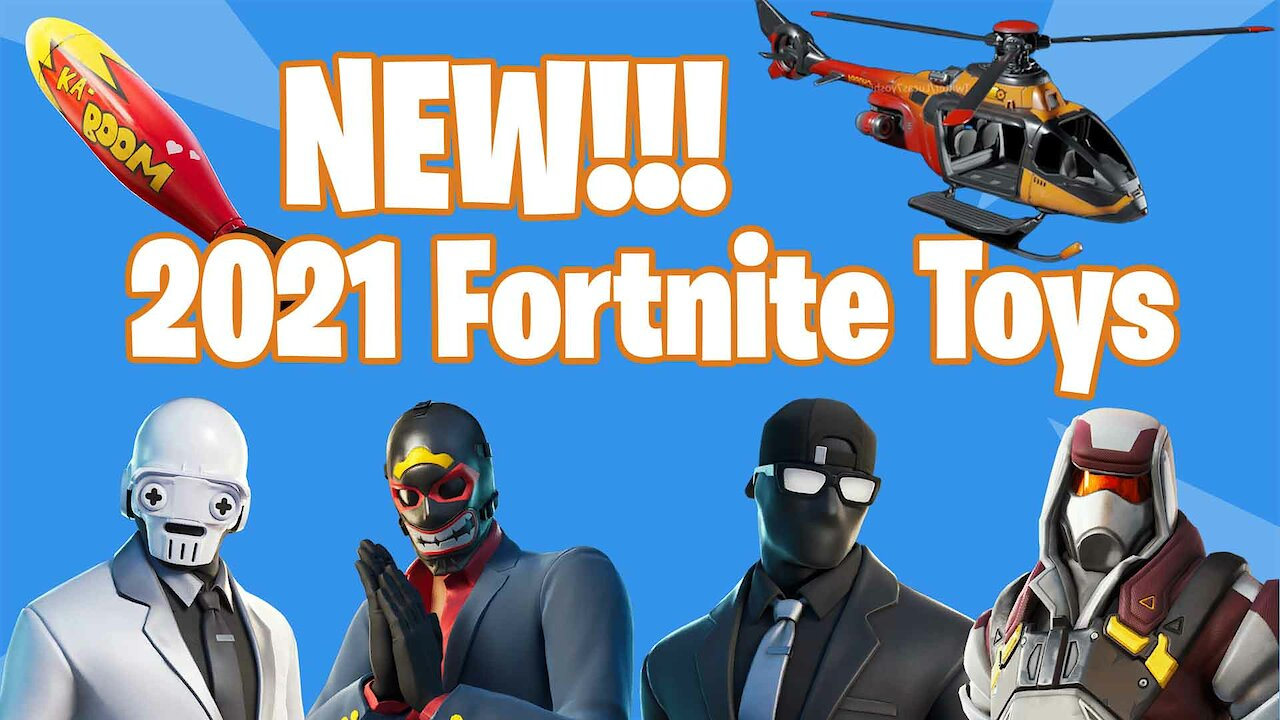 Video poster *NEW 2021 FORTNITE TOYS* | Fortnite Toy Information | Jazwares