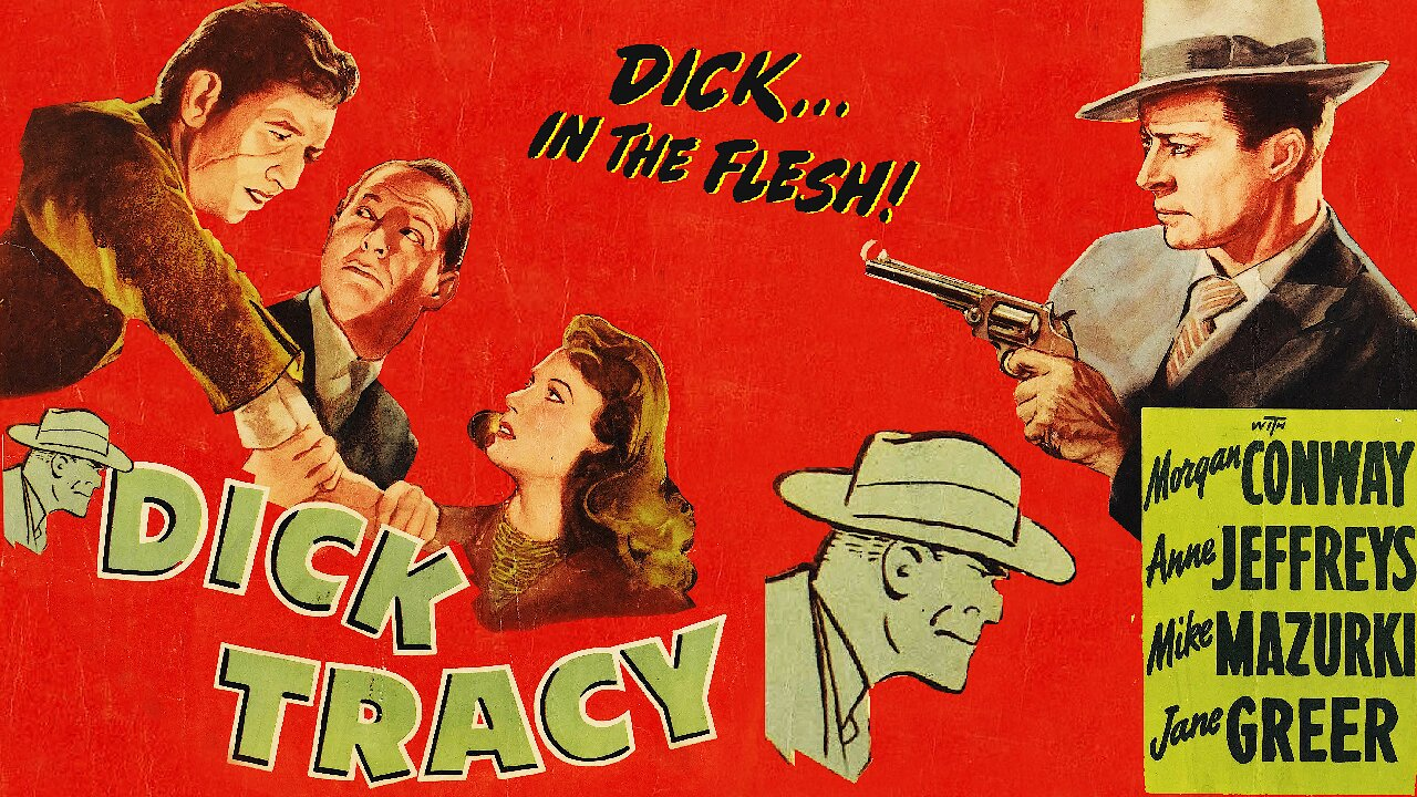 Video poster Dick Tracy (1945)