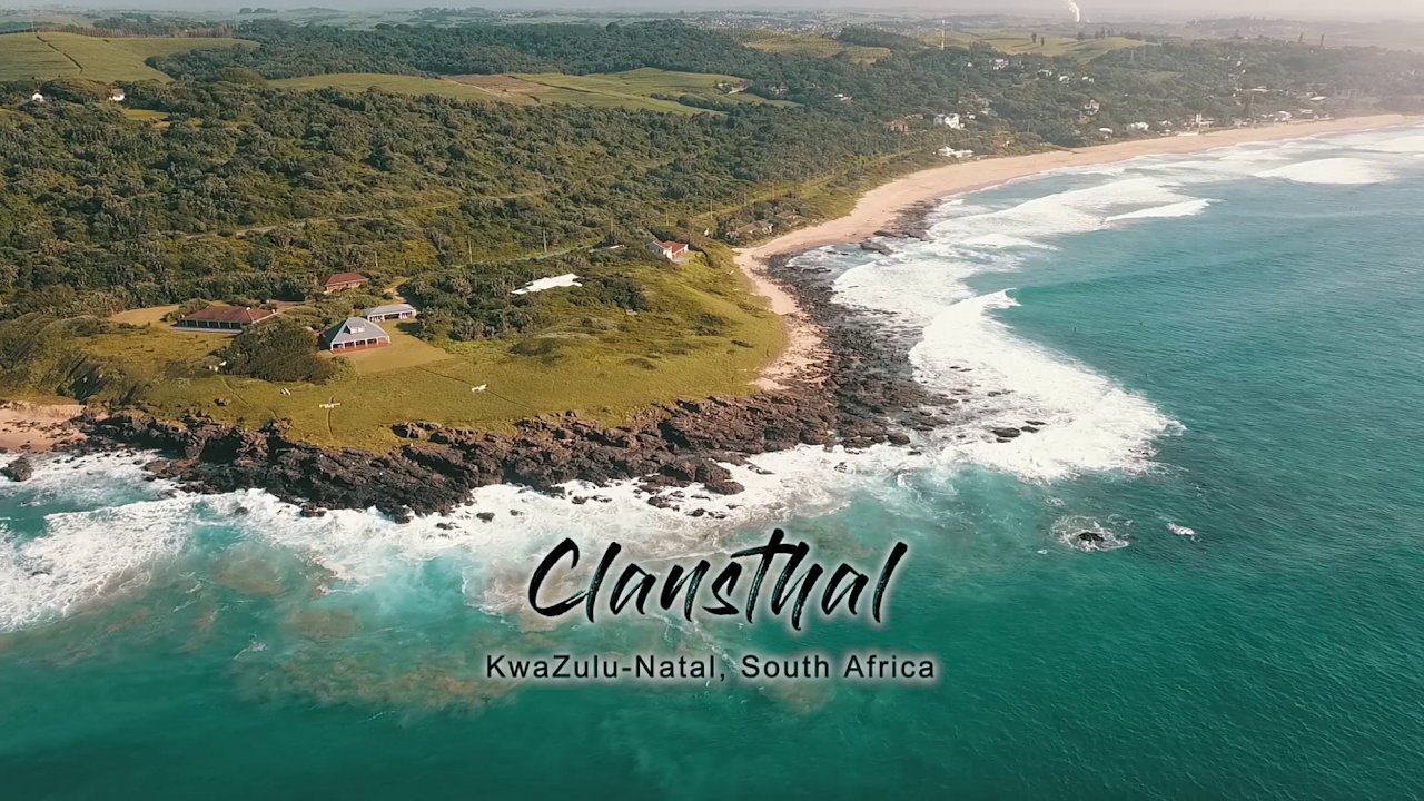Video poster Clansthal Beach, KZN South Coast, South Africa | Drone