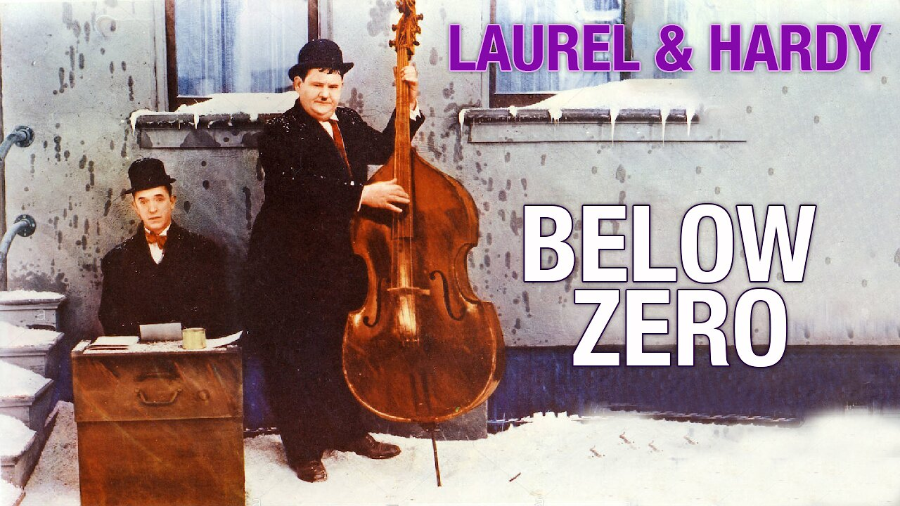 Video poster Laurel & Hardy: Below Zero (1930)