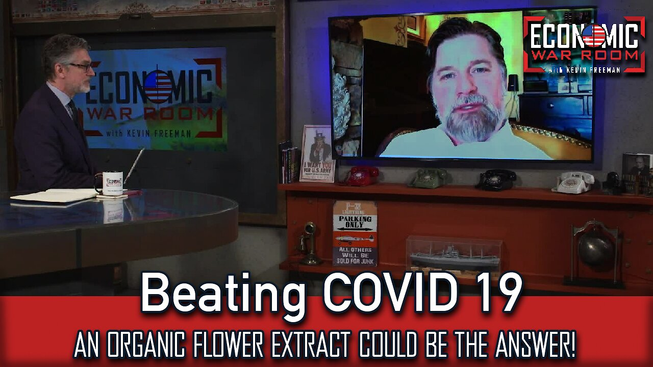 Video poster [BANNED FROM YOUTUBE]  An organic flower extract could be the answer for beating COVID 19